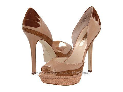Новые кожаные туфли с открытым носком Boutique-9 Tizrah размер США 8, 5