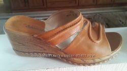 Летняя обувь, кожа