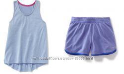 Спортивный комплект шорты и майка Oldnavy active для девочки 6-8лет