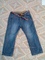 Интересные джинсы с матней Zara