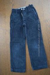 Продам черные вельветовые брюки GAP, размер 7 slim