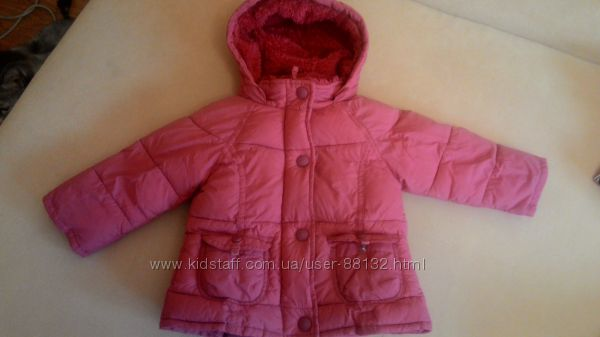 Теплая куртка Marks & Spencer