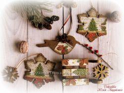 Рождественские саночки