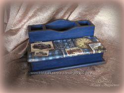 Канцелярский органайзер-подставка для письменных приборов